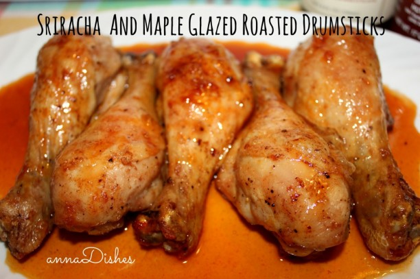Sriracha Maple Drumsticks