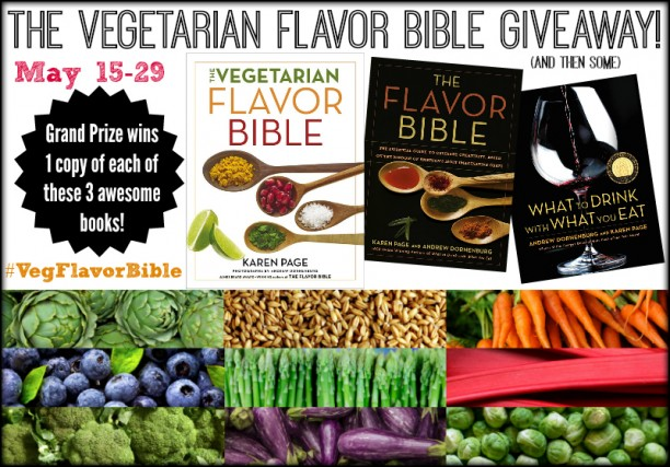 VegFlavorBible Giveaway Graphic Large Border
