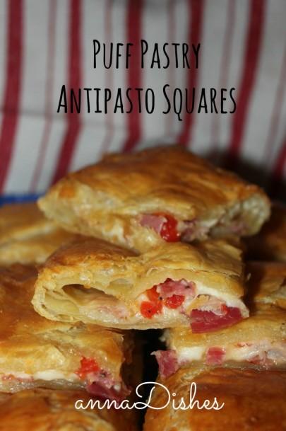 puff pastry antipasto